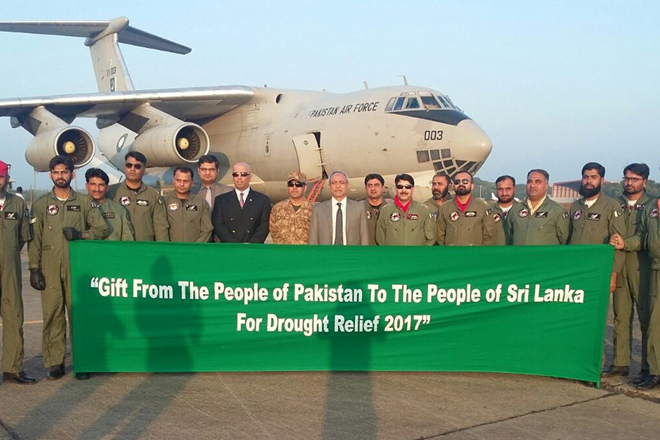 Pakistan sends relief assistance to drought affected people of Sri Lanka