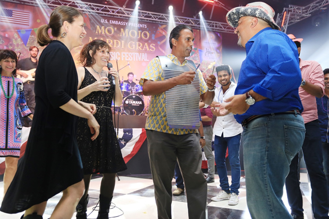 "US Zydeco band ""Mo' Mojo"" visits Sri Lanka to strengthen cultural connections"