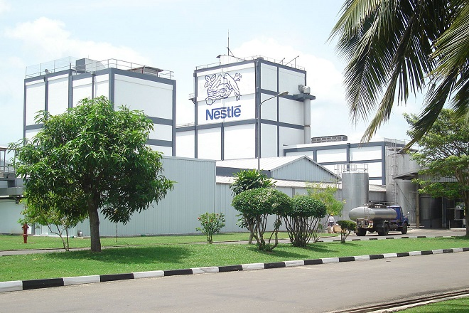 Sri Lanka's Nestlé unit net up 34-pct in December quarter