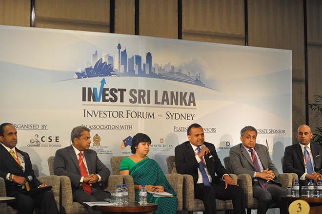 Sri Lanka investor forum garners interest in Australia