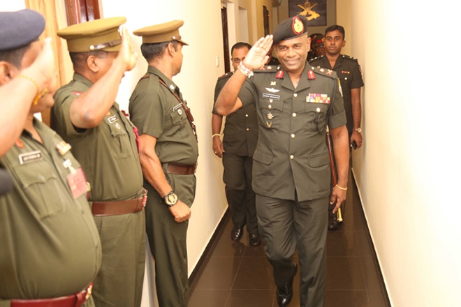 New Chief of Staff of Sri Lanka Army assumes office