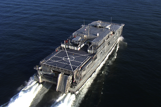 USNS Fall River to arrive Hambantota Port for goodwill mission