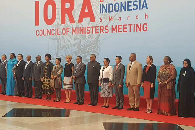 Sri Lanka Foreign Minister takes part in IORA Ministers Meeting