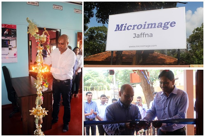Microimage opens R&D Centre in Jaffna, plans to draw new talent