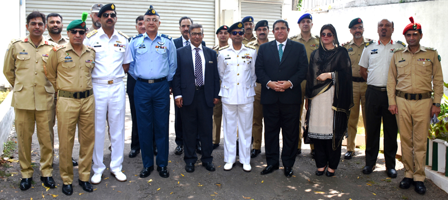 Pakistan's National Defence University Delegation in Sri Lanka