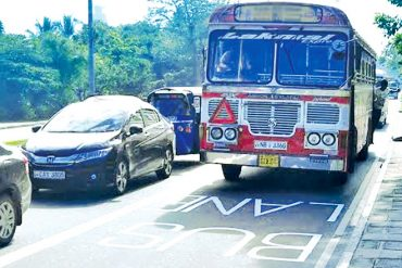 Sri Lanka to extend Priority Bus Lanes to reduce congestion