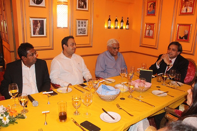 Sri Lanka business leaders meet Dr Shashi Tharoor