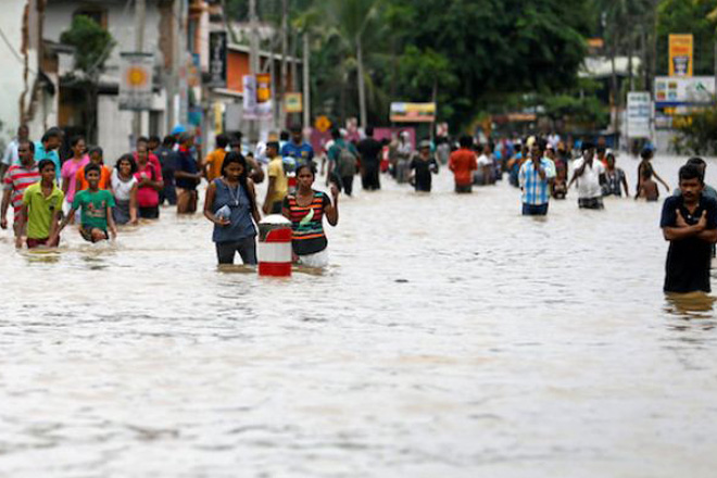 Sri Lanka flood and landslide death toll rises to 25