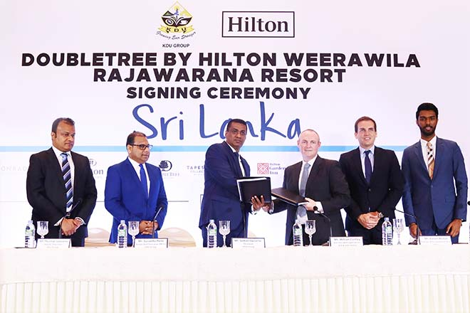 Hilton to open 140-room resort in Weerawila, Sri Lanka