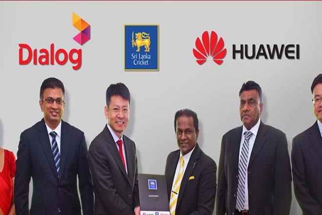Huawei becomes Official Smartphone Partner of Sri Lanka Cricket Team