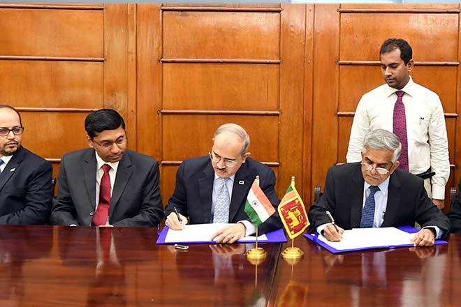 Sri Lanka to develop railway with USD 318mn credit line from India