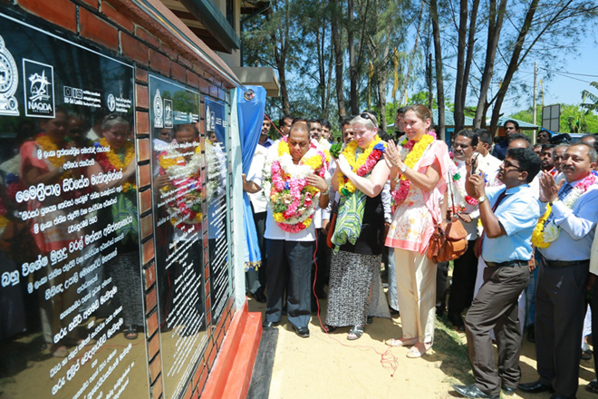 Sri Lanka's first Marine Finfish Hatchery established in Batticaloa