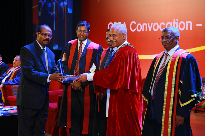 CA Sri Lanka confers CPFA qualification to senior public servants
