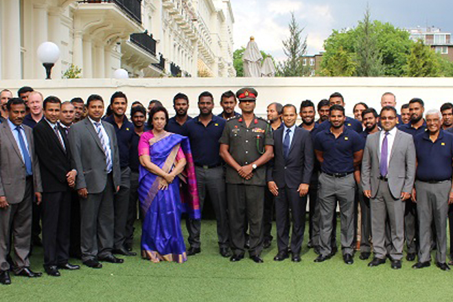 SL High Commission in London hosts special reception for Sri Lanka Cricket