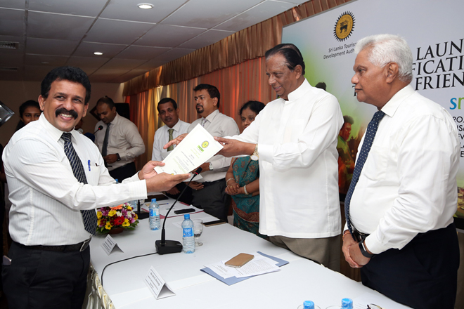 Sri Lanka tourism office grades restaurants in Colombo
