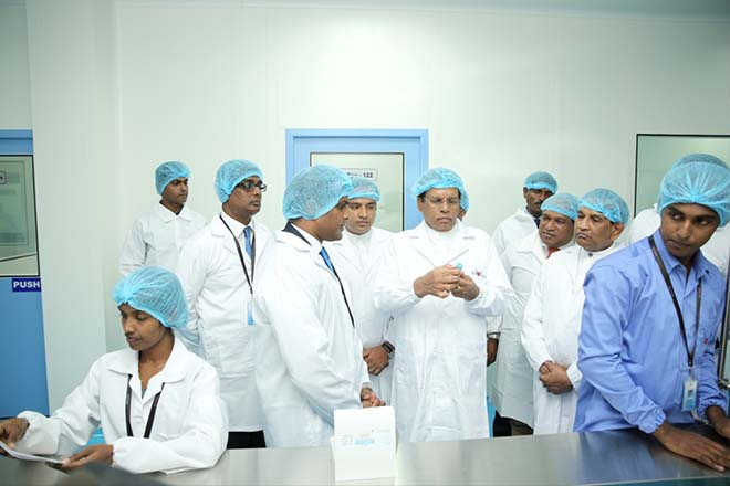 Navesta Pharmaceuticals Opens Sri Lanka's First Sterile Manufacturing Plant