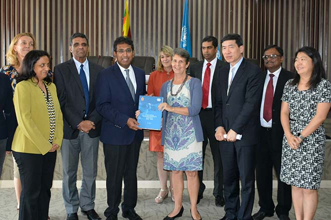 Sri Lanka, UN sign Sustainable Development Framework, USD 300 mln pledged