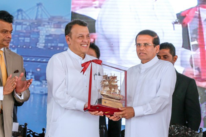 Colombo Port Eastern Terminal will not go to external party: President