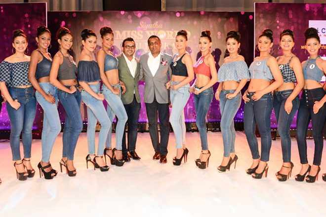 LiCC Jeans joins hands with Siyatha Miss World Sri Lanka 2017
