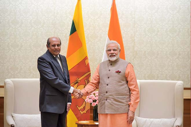 Sri Lanka and India commit to stronger bilateral relations