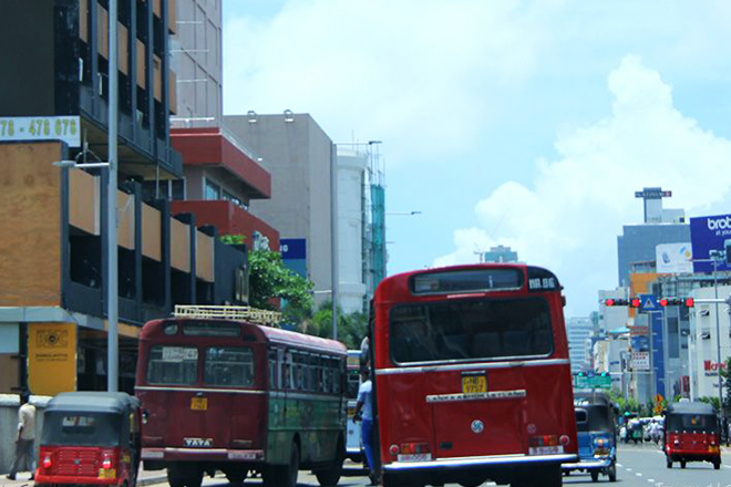 Sri Lanka seeks to limit importation of busses, three-wheelers