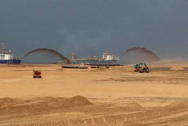 Sri Lanka's Colombo Port- city dredging completed ; Ready for investors