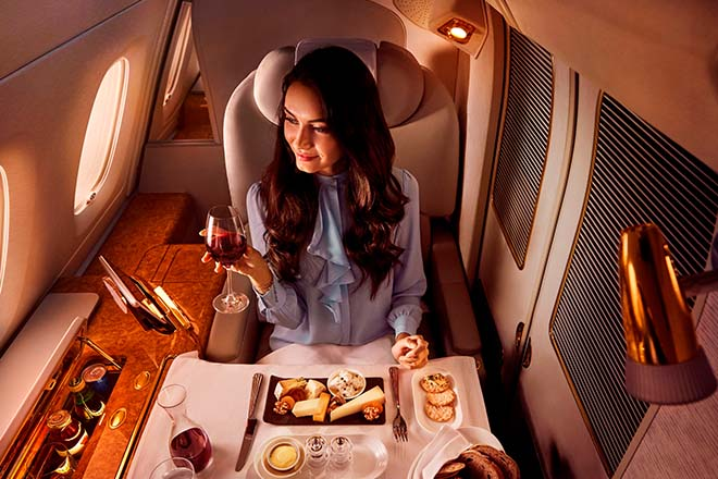 Emirates launches world's largest flying restaurant