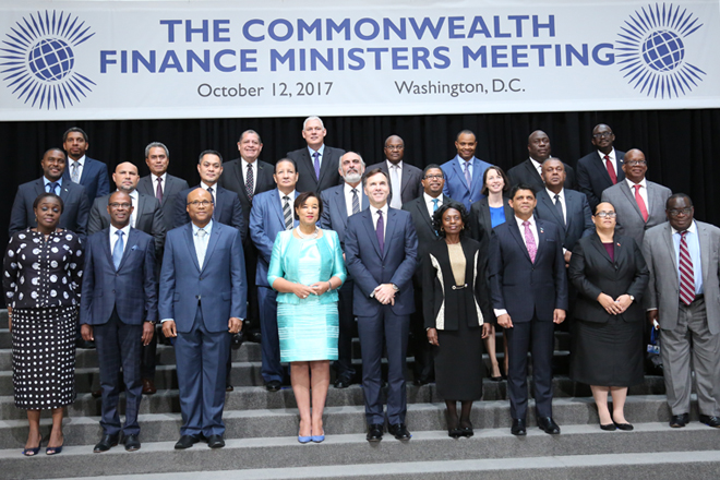 FinMin Mangala attends Commonwealth Finance Ministers meeting