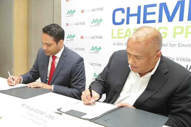 MAS teams up with JAT Holdings for chemical leasing deal