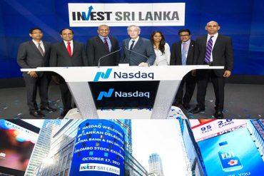 Sri Lanka's CSE hosted at NASDAQ at market site