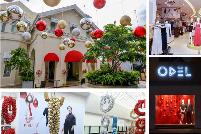 ODEL heralds a bigger, bolder and 'baubled' Christmas