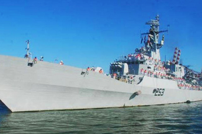 Pakistan naval ship SAIF due in Sri Lanka on a goodwill visit