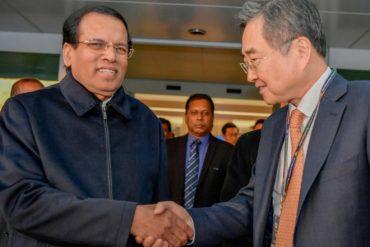 Sri Lanka's President arrives in Seoul for 3-day state visit to South Korea