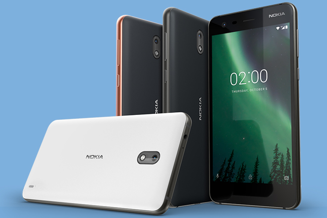 Nokia 2: two-day battery life on a single charge