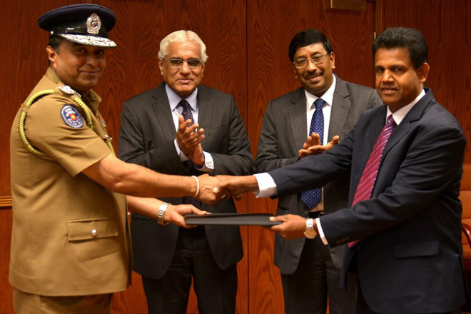 Financial Intelligence Unit enters into MOU with Sri Lanka Police