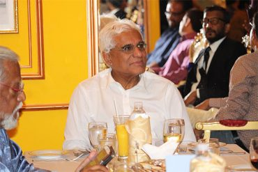 Dinner event with Dr. Indrajit Coomaraswamy