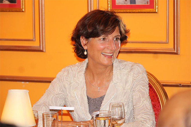 Dinner event with Dutch Ambassador, Joanne Doornewaard
