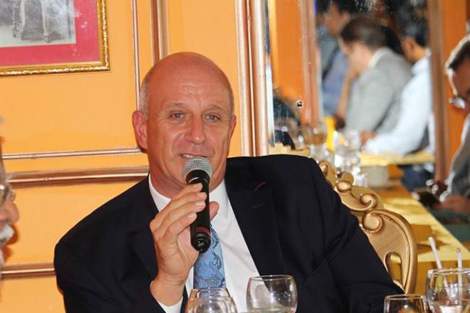 Jürgen Morhard, the German Ambassador [June 27, 2016]