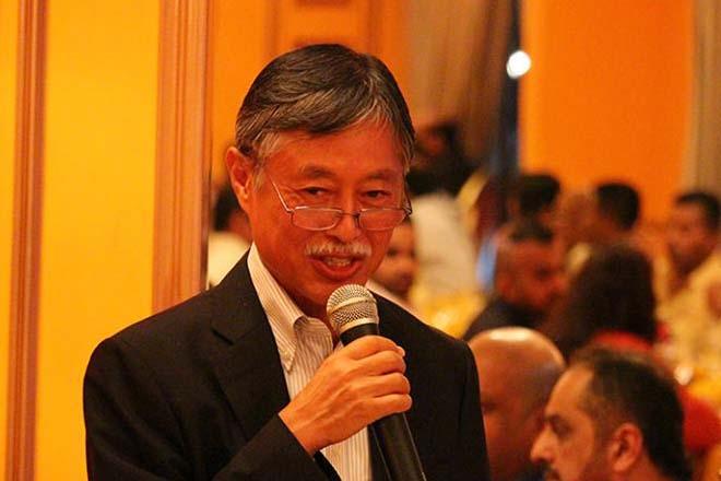 Dinner event with Japanese Ambassador Kenichi Suganuma