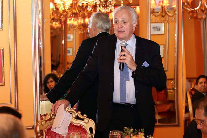 Dinner event with Lord Mark Malloch-Brown