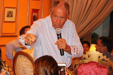 Dinner event with tennis legend Nick Bollettieri