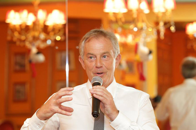 Dinner event with Tony Blair [January 4, 2016]