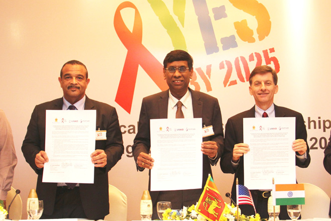 US & Sri Lanka launch USD2mn HIV/AIDS technical assistance partnership