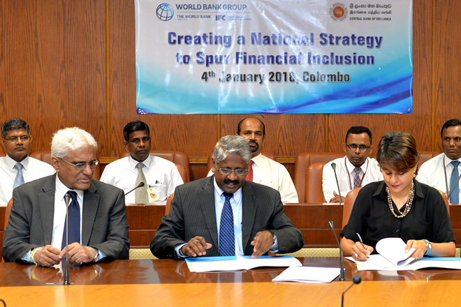 IFC, CB partner to create Sri Lanka's first national financial inclusion strategy