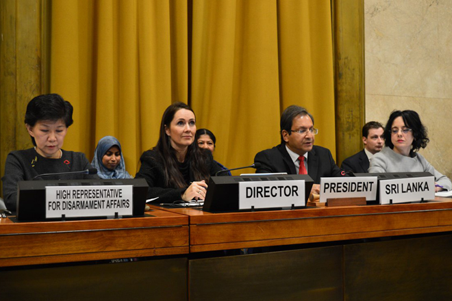 Sri Lanka assumes Presidency of Conference on Disarmament