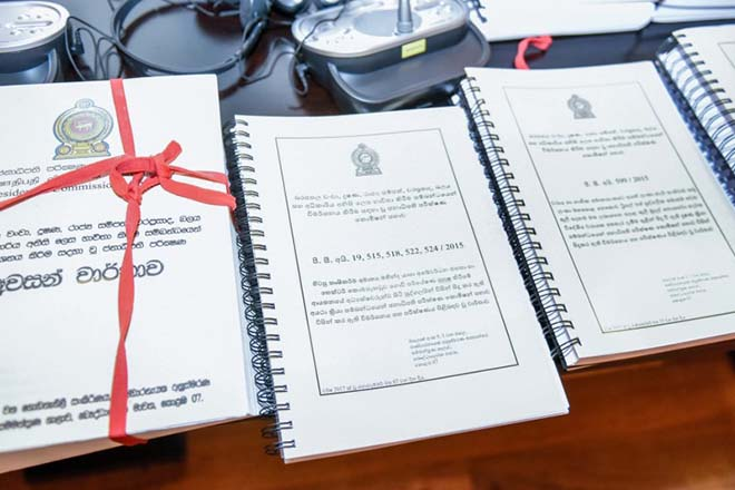 Final report of PRECIFAC handed over to President