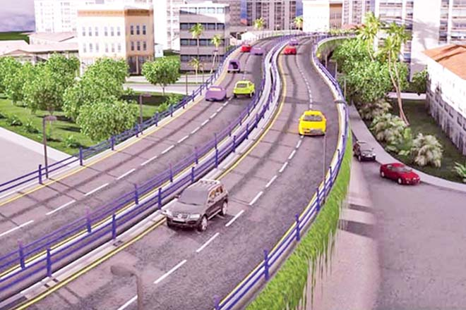Rajagiriya flyover to open today, speed of vehicles to increase eight-fold