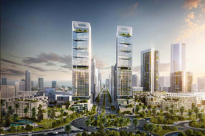 CHEC to kick off Port City project with billion dollar towers : Minister