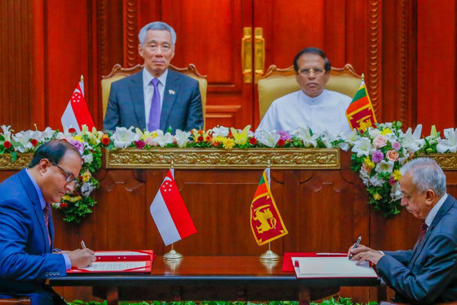 President appoints committee to study Sri Lanka – Singapore FTA