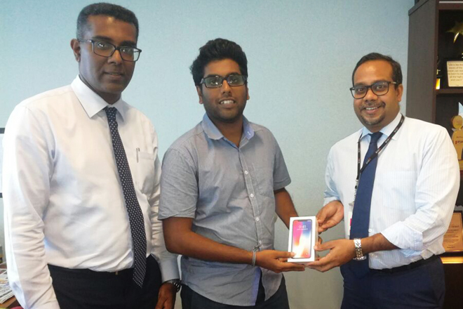 Seylan Bank rewards iPhone X through Facebook competition